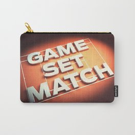 Game Set Match Carry-All Pouch