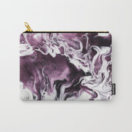Fluid Expressions - Plums and Cream Carry-All Pouch