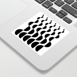 ROUND_WAVES Sticker