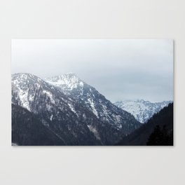 Mountains Austria Canvas Print