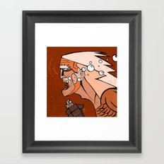 Aguaman Framed Art Print