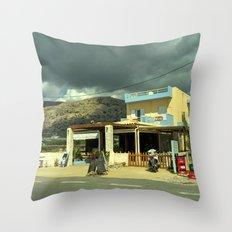 Goudouras Tavern Throw Pillow
