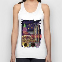 istanbul Tank Tops featuring Istanbul  by Aleksandra Jevtovic