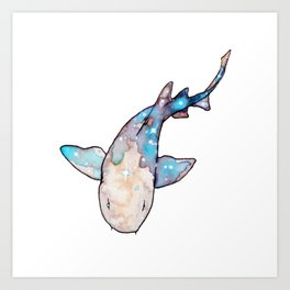 Nurse Shark Art Print