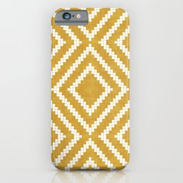 Loom in Gold iPhone Case