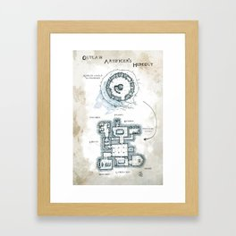The Outlaw Artificers' Hideout Framed Art Print