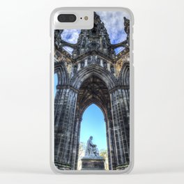 The Scott Memorial Edinburgh Clear iPhone Case