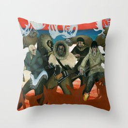 Inuit Mythology: Chapter 1, part 6 Throw Pillow