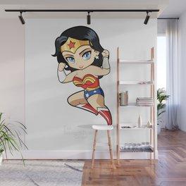 Chibi WonderGal Wall Mural