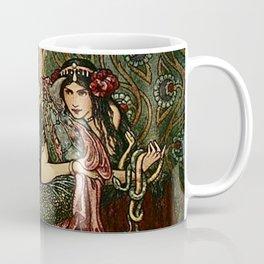 """Marina Fondled the Fiery Dragon"" by Frank C Pape Coffee Mug"