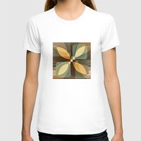 clover T-shirts featuring clover by Julia Tomova