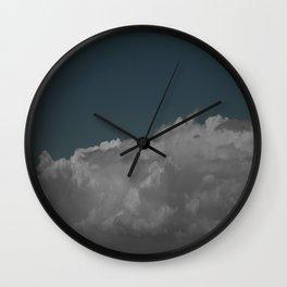 Cloudy blue Wall Clock