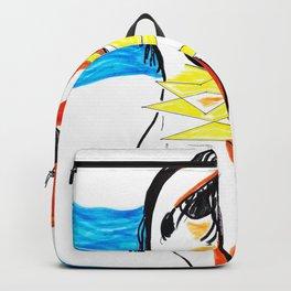Beach Lady Backpack