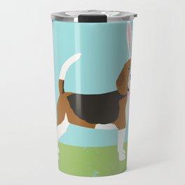 Beagle easter bunny spring dog gifts beagles must haves Travel Mug