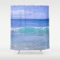 destiny Shower Curtains featuring Destiny by Sharon Mau