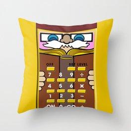 Little Professor Throw Pillow