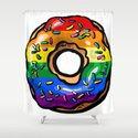 Donut lgbt rainbow flag gay lesbian queer bi by qpartz