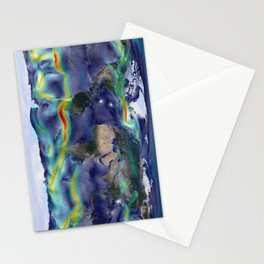 A Portrait of Global Winds Stationery Cards