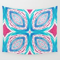 clover Wall Tapestries featuring Clover by Truly Juel