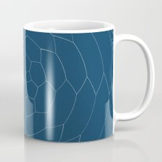 Honey Twist Blue Print Mug
