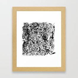 Pile Of Neverending Suffering Framed Art Print