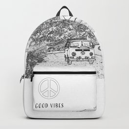 Good Vibes Bus Adventure Backpack