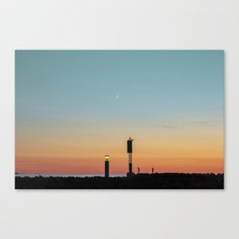 Vintage Sunset Canvas Print