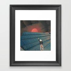 Mndsgn - breatharian Framed Art Print
