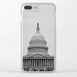 United States Capitol Building Clear iPhone Case