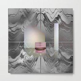 Nocturne Waves  Metal Print