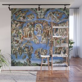 """Michelangelo """"Last Judgment"""" Wall Mural"""