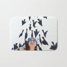 Bird Shower? Bath Mat