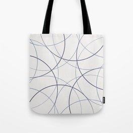 Purple circles Tote Bag