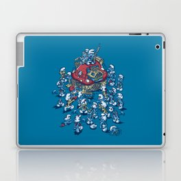 Blue Horde Laptop & iPad Skin