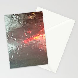 Raindrops on my windshield Stationery Cards