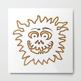 Sunburst jGibney The MUSEUM Society6 Gifts Metal Print