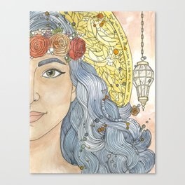 Lady Wisdom (Sophia) Canvas Print