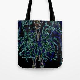 Neon Sally Rand Tote Bag