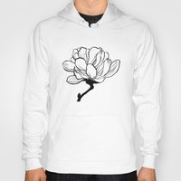 magnolia Hoodies featuring Magnolia  by Janeth Force