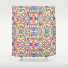 Kaleidoscopic Zen Shower Curtain