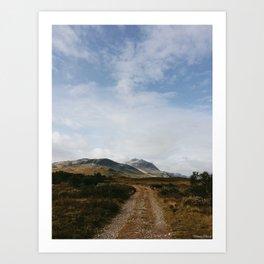 Hiking in Rondane, Norway Art Print