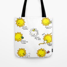 Sun Facts Tote Bag