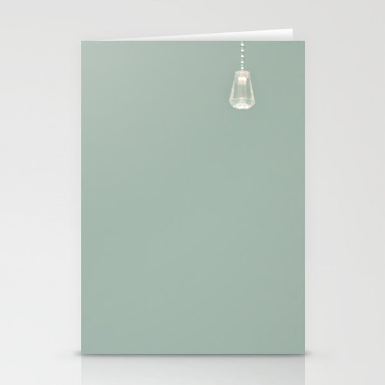 Lone drop Stationery Cards