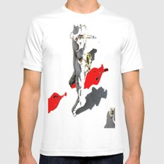 banda musicale White SMALL Mens Fitted Tee