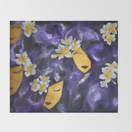 golden girls Throw Blanket