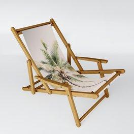 Tropical Palm Tree Sling Chair