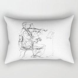 Solo violin Rectangular Pillow