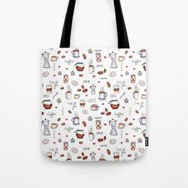 Coffee Pattern Tote Bag