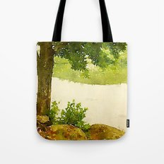 Camp Fairhaven, Maine Tote Bag