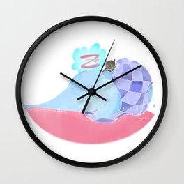 l'éléphant qui dort Wall Clock